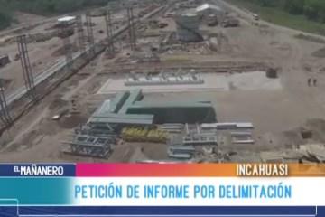 PETICIÓN DE INFORME POR DELIMITACIÓN ENTRE CHUQUISACA Y SANTA CRUZ