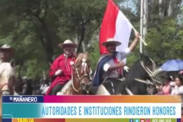 FERVOR CÍVICO SE CONCENTRÓ EN LA AVENIDA VÍCTOR PAZ
