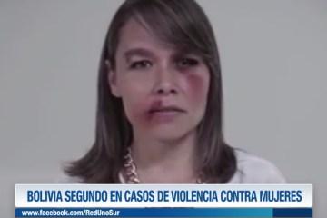 BOLIVIA SEGUNDO EN CASOS DE VIOLENCIA CONTRA MUJERES