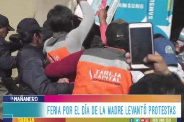 LA FERIA DEL DÍA DE LA MADRE LEVANTÓ PROTESTAS