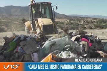 """REALIDAD URBANA: """"CADA MES EL MISMO PANORAMA EN CARRETERAS"""""""