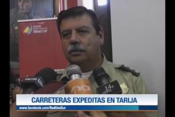 CARRETERAS EXPEDITAS EN TARIJA