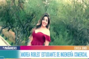 CHICA UNO TARIJA: ANDREA ROBLES