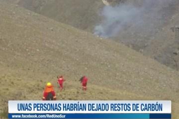 CERCA DE 6 HECTÁREAS FUERON AFECTADAS POR EL FUEGO EN CHIJIMURI