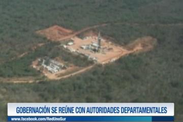 GOBERNACIÓN SE REÚNE CON AUTORIDADES DEPARTAMENTALES