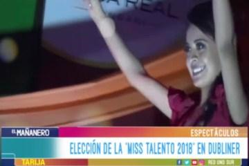 """ESPECTÁCULO: ELECCIÓN DE"""" MISS TALENTO 2018"""" EN DUBLINER"""