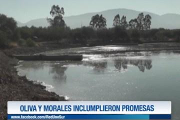 OLIVA Y MORALES INCUMPLIERON PROMESAS