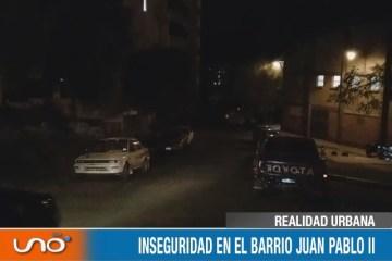 REALIDAD URBANA: INSEGURIDAD EN EL BARRIO JUAN PABLO II