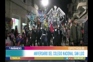 ESPECTÁCULO: ANIVERSARIO DEL COLEGIO NACIONAL SAN LUIS