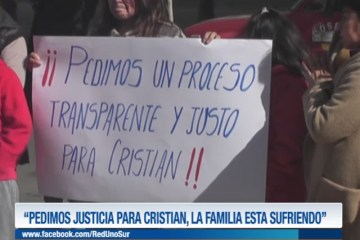 """PIDEN JUSTICIA PARA CRISTIAN, LA FAMILIA ESTÁ SUFRIENDO"""