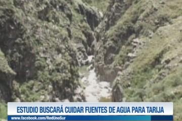 ESTUDIO BUSCARÁ CUIDAR FUENTES DE AGUA PARA TARIJA