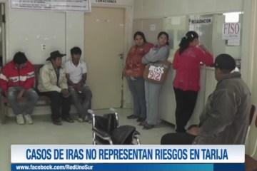 EN TARIJA IRAS REGISTRAN UNA DISMINUCIÓN DE UN 10 %