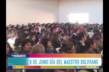 6 DE JUNIO DÍA DEL MAESTRO BOLIVIANO