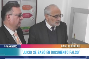 """JUICIO SE BASÓ EN DOCUMENTO FALSO"""