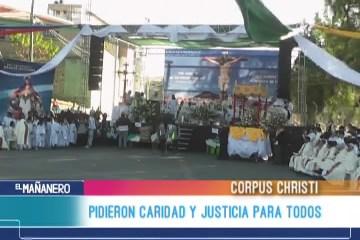 PIDIERON CARIDAD Y JUSTICIA PARA TODOS