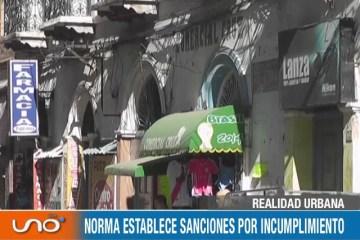 REALIDAD URBANA: MUNICIPIO REGULA LETREROS EN LA CIUDAD