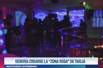 """DEBERÍA CREARSE LA """"ZONA ROSA"""" DE TARIJA"""