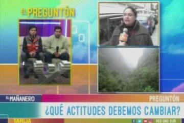 EL PREGUNTÓN: MEDIO AMBIENTE