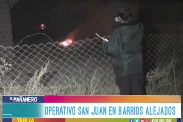 OPERATIVO SAN JUAN EN BARRIOS ALEJADOS