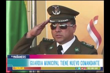 LA GUARDIA MUNICIPAL DE TARIJA TIENE NUEVO COMANDANTE