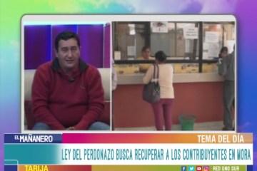 """TEMA DEL DÍA: LEY MUNICIPAL DEL """"PERDONAZO"""""""