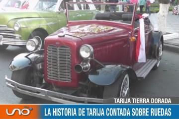 TARIJA TIERRA DORADA: HISTORIA DE AUTOMÓVILES
