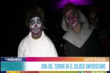 ESPECTÁCULO: GIRA DEL TERROR
