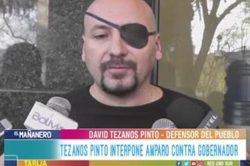 TEZANOS PINTO INTERPONE AMPARO CONTRA GOBERNADOR