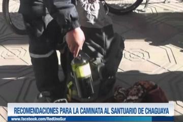 PEREGRINACIÓN AL SANTUARIO DE LA VIRGEN DE CHAGUAYA