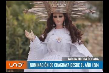TARIJA TIERRA DORADA: RELIGIOSIDAD POR LA VIRGEN DE CHAGUAYA