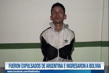 FUERON EXPULSADOS DE ARGENTINA E INGRESARON A BOLIVIA