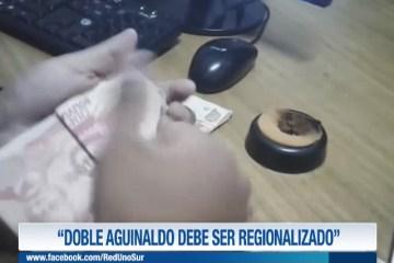 """""""DOBLE AGUINALDO DEBE SER REGIONALIZADO"""""""