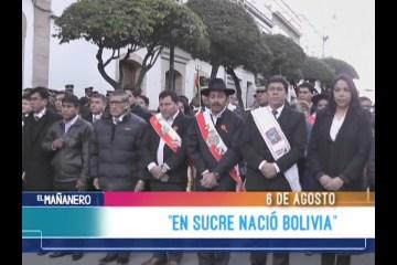 """""""EN SUCRE NACIÓ BOLIVIA"""""""