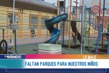 LO MALO: PARQUES INFANTILES EN POTOSÍ