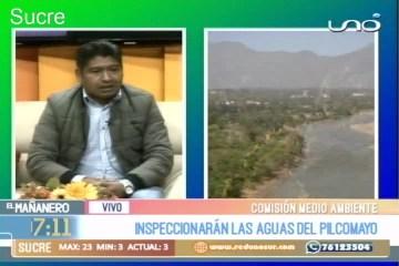 INSPECCIONARÁN LAS AGUAS DEL PILCOMAYO