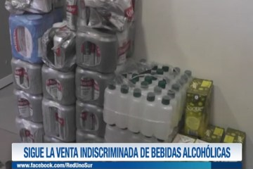 SIGUE LA VENTA INDISCRIMINADA DE BEBIDAS ALCOHÓLICAS