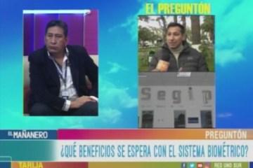 EL PREGUNTÓN: REGISTRO ÚNICO DE IDENTIFICACIÓN BIOMÉTRICO