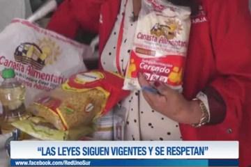 """""""LAS LEYES SIGUEN VIGENTES Y SE RESPETAN"""""""