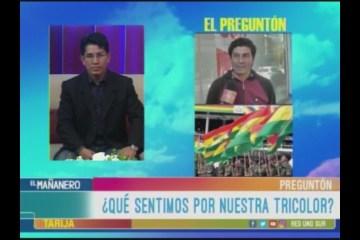 EL PREGUNTÓN: DÍA DE LA BANDERA BOLIVIANA