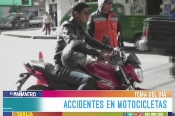 TEMA DEL DÍA: ACCIDENTES EN MOTOCICLETAS
