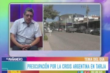 TEMA DEL DÍA: CRISIS ECONÓMICA DE ARGENTINA