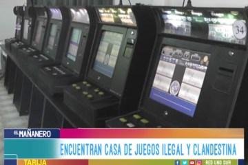 ENCUENTRAN CASA DE JUEGOS ILEGAL Y CLANDESTINA