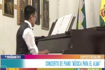ESPECTÁCULO: CONCIERTO DE PIANO