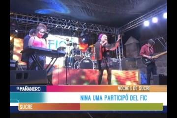 NOCHES DE SUCRE: FESTIVAL INTERNACIONAL DE LA CULTURA
