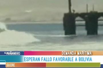 ESPERAN FALLO FAVORABLE A BOLIVIA EN LA DEMANDA MARÍTIMA