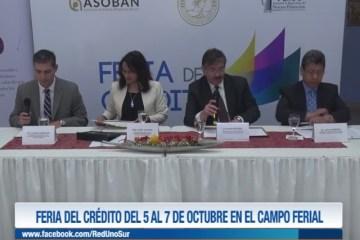 FERIA DEL CRÉDITO DEL 5 AL 7 DE OCTUBRE EN EL CAMPO FERIAL