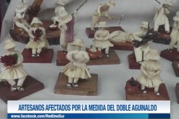 ARTESANOS AFECTADOS POR LA MEDIDA DEL DOBLE AGUINALDO