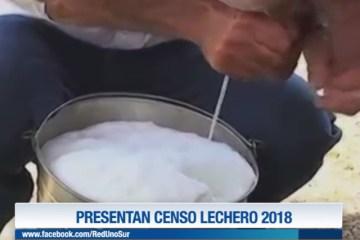 PRESENTAN CENSO LECHERO 2018