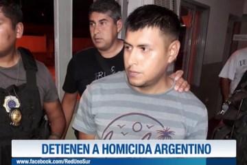 DETIENEN A HOMICIDA ARGENTINO