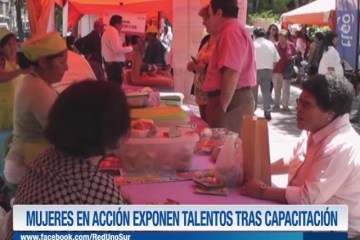 MUJERES EN ACCIÓN EXPONEN TALENTOS TRAS CAPACITACIÓN
